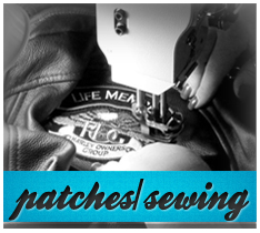 Motorcycle Patches/Sewing